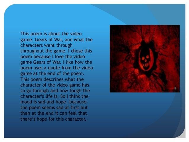 Game poem chris bussey