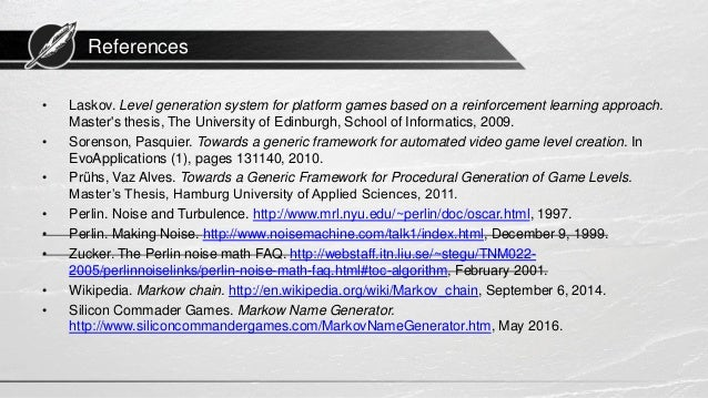 game programming thesis Games, puzzles, and computation by robert aubrey in the first half of this thesis, i develop the idea of game as computation the class programming contest.