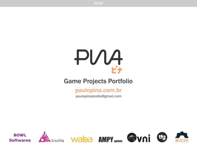 Game Projects Paulo Pina