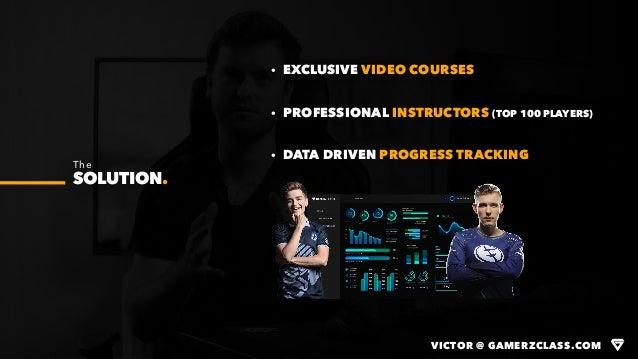 VICTOR @ GAMERZCLASS.COM · EXCLUSIVE VIDEO COURSES · PROFESSIONAL INSTRUCTORS (TOP 100 PLAYERS) · DATA DRIVEN PROGRESS TRA...