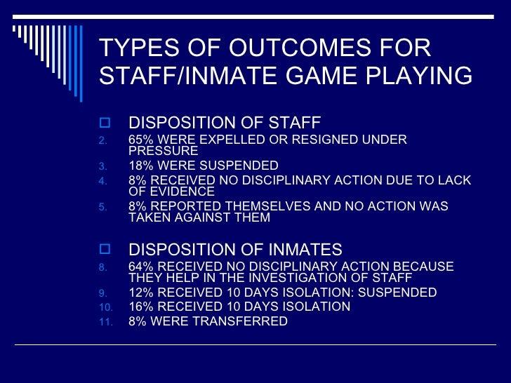 games criminals play summary