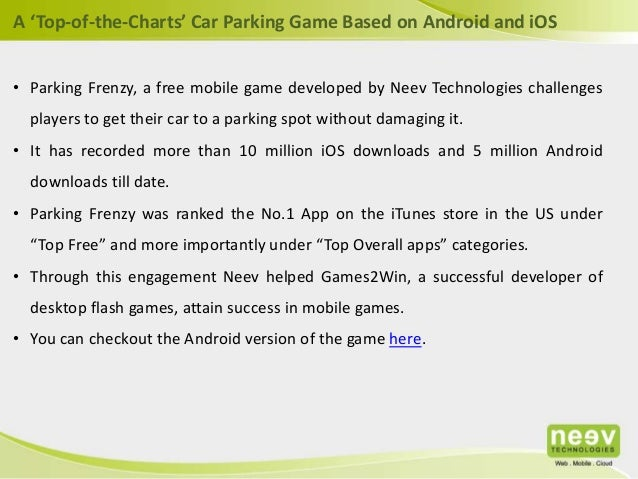Games2Win - A 'Top-of-the-Charts' Car Parking Game Based on Android a…