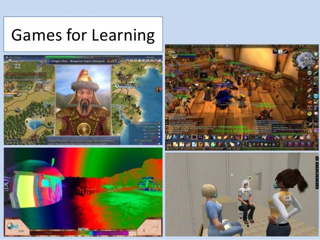 Games and Learning in Higher Education Slide 3