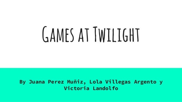 games at twilight A revision video for the cambridge igcse prose component.