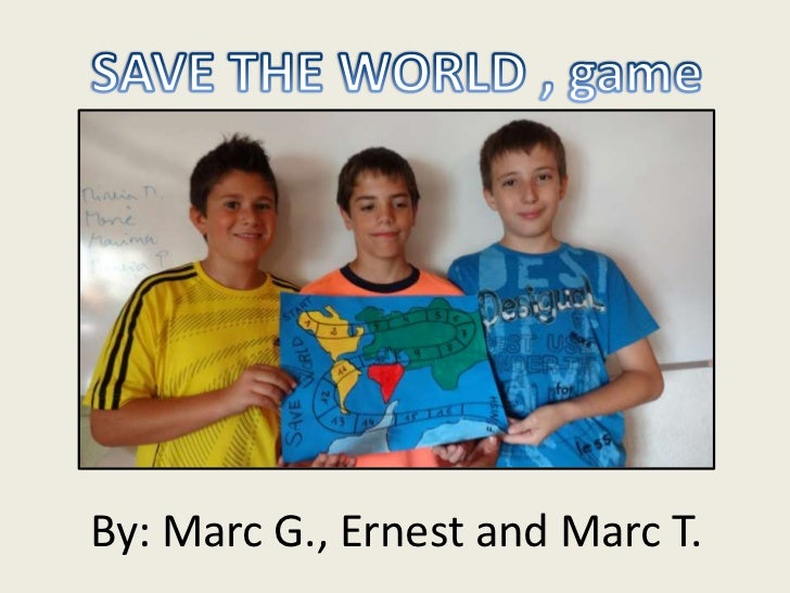 By: Marc G., Ernest and Marc T.