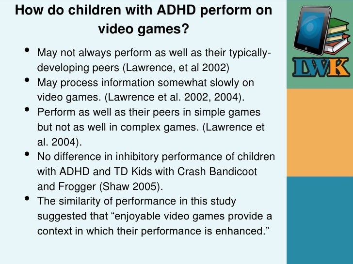 adult adhd video games