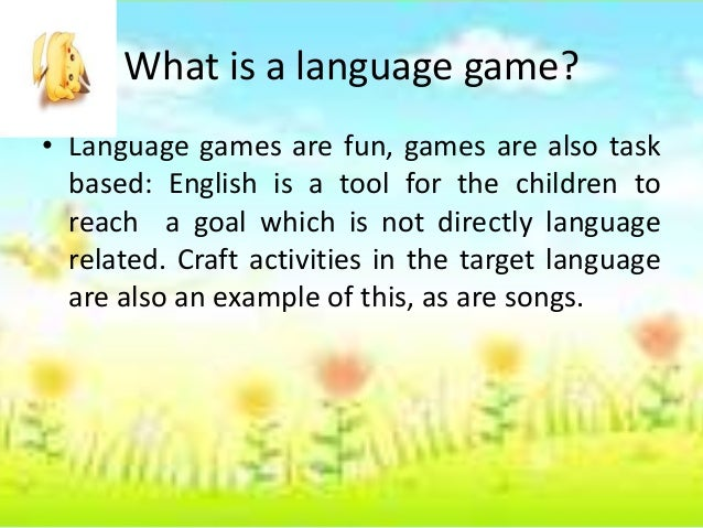 Games for young learner Slide 3