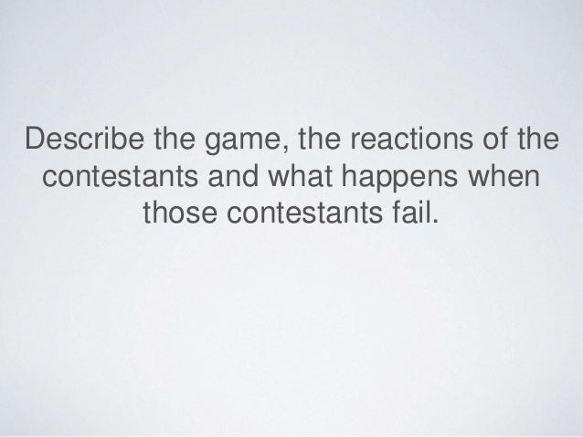 Compare the game shows:  The American gameshow rewards  success, whereas the Japanese  gameshow punishes failure.  The clo...