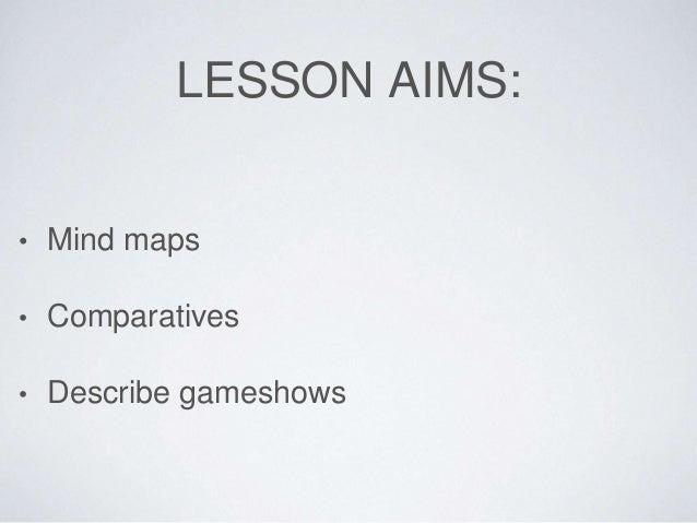Game show lesson Slide 2