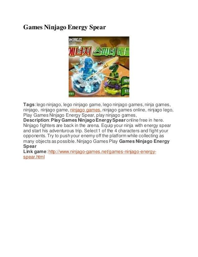 Games Ninjago Energy Spear Tags:lego ninjago, lego ninjago game, lego ninjago games,ninja games, ninjago, ninjago game, ni...