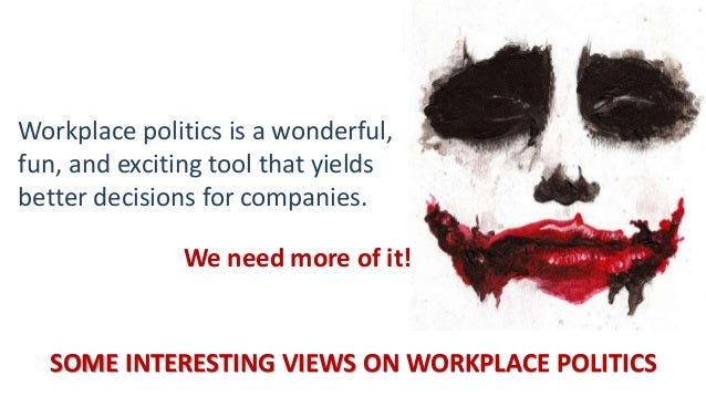 Workplace Political Intelligence - Workplace Politics - Games people …