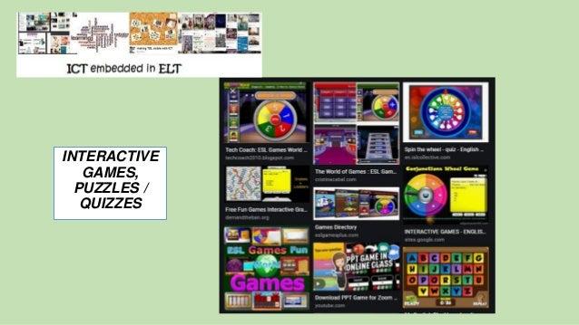 INTERACTIVE GAMES, PUZZLES / QUIZZES