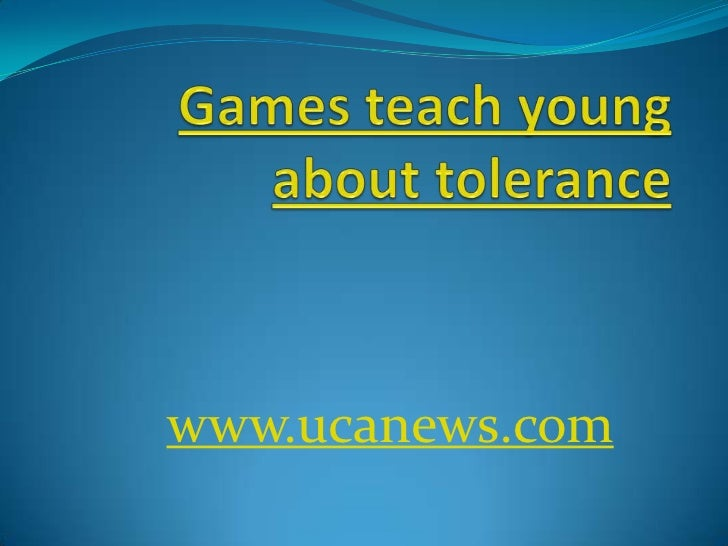 Games teach young about tolerance<br />www.ucanews.com<br />