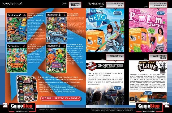 Catalogo GameStop Autunno 11