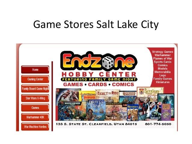 Game Stores Salt Lake City