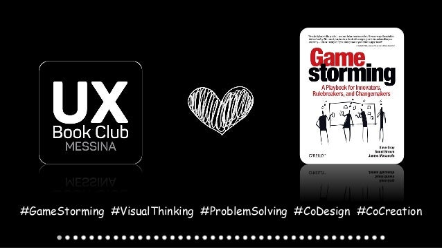 #GameStorming #VisualThinking #ProblemSolving #CoDesign #CoCreation