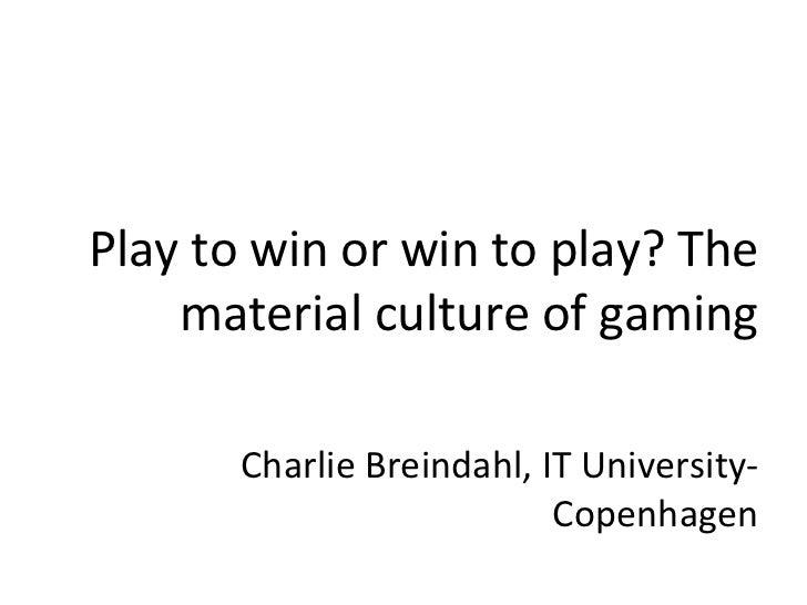 Game Studies Download 2009 - Top 10 Research Findings
