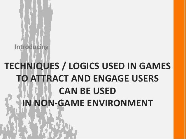 Game Design techniques Slide 2