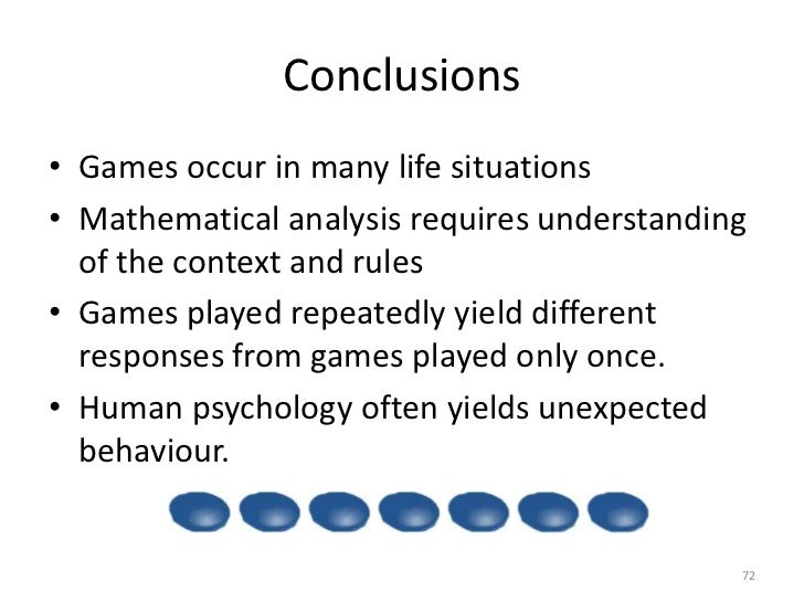 an introduction to game theory Game theory in action is a textbook about using game theory across a range of  real-life  an introduction to classical and evolutionary models.
