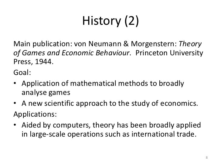 an introduction to game theory Cs905 an introduction to game theory instructor: rahul garg, email: grahul[at]inibmcom, tel: 686-1100x197 iitd internal number:6104 course timing.