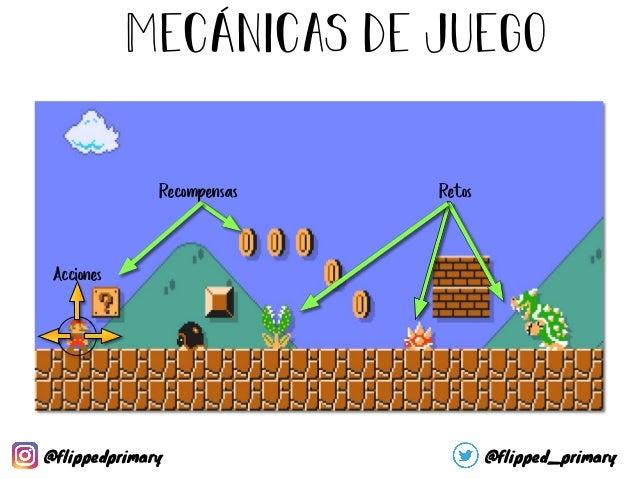 Mecánicas de juego Reto Acciones Recompensas Tareas de clase Limpieza de clase Juegos (Kahoot!, Plickers, …) Trabajo extra...