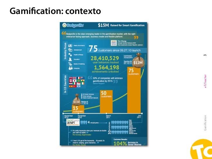 Gamification: contextoGamification   #TcTeacher   3
