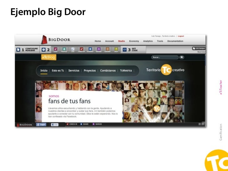Ejemplo Big DoorGamification   #TcTeacher