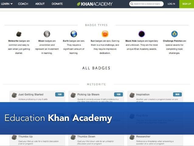 Education Khan Academy