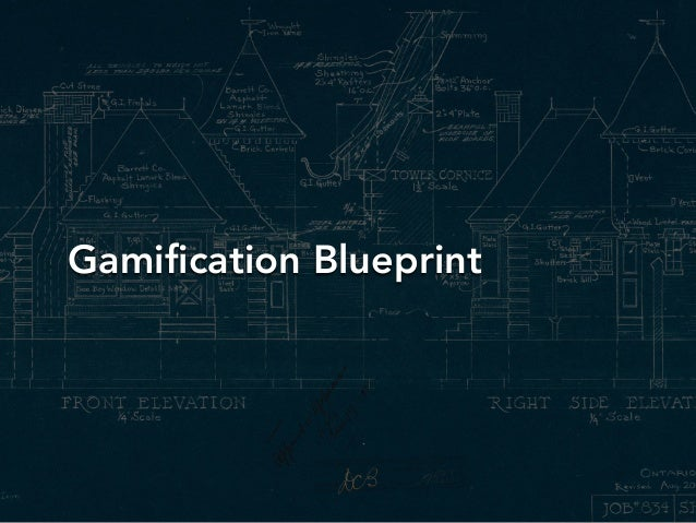 Gamification Blueprint