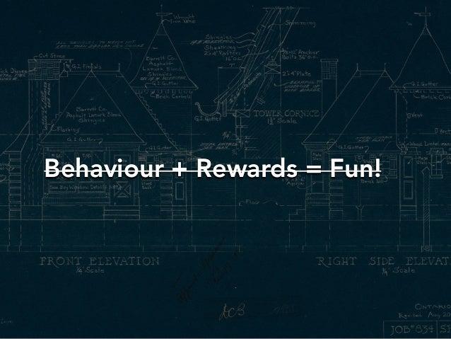 Behaviour + Rewards = Fun!Behaviour + Rewards = Fun!