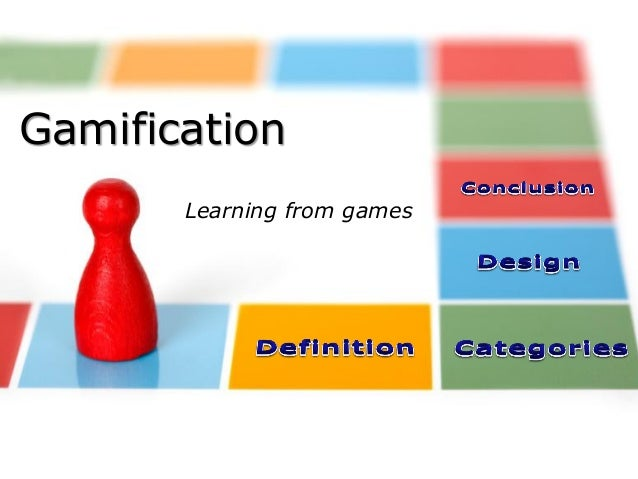 Gamification Learning from games  © Jean-Charles Pillet