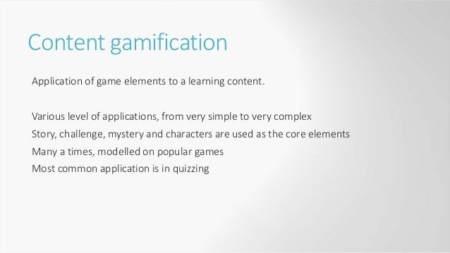 Content gamification examples