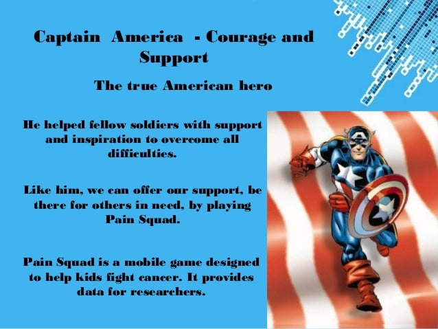 Gamification how to become real life heroes powerpoint templates page 10 captain america toneelgroepblik Gallery