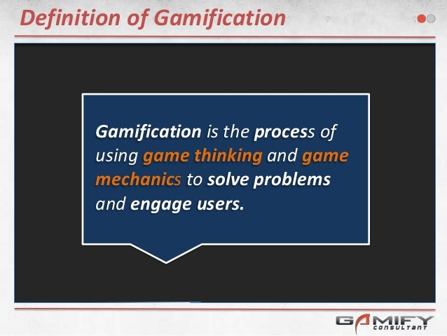 Principles of Gamification Presentation Slide 2