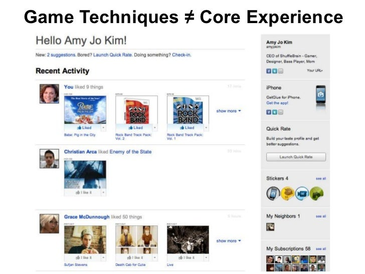 Game Techniques ≠ Core Experience
