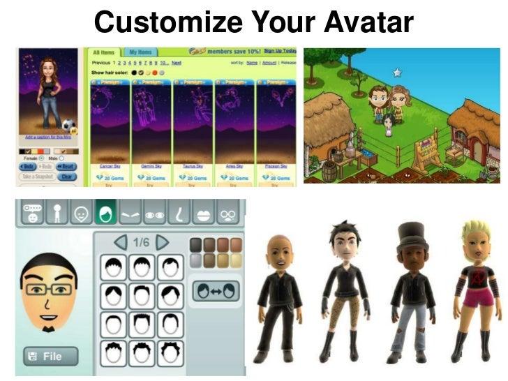 Customize Your Avatar