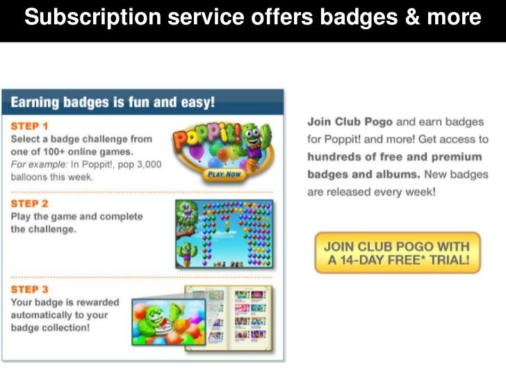 Subscription service offers badges & more