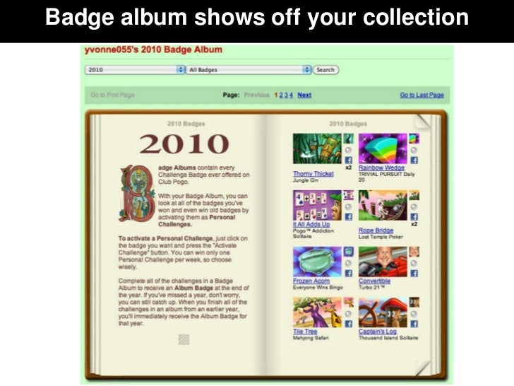 Badge album shows off your collection