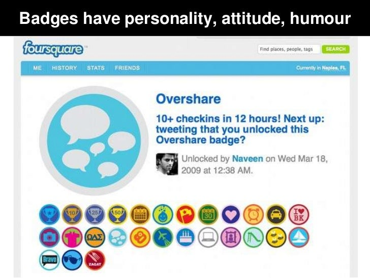 Badges have personality, attitude, humour