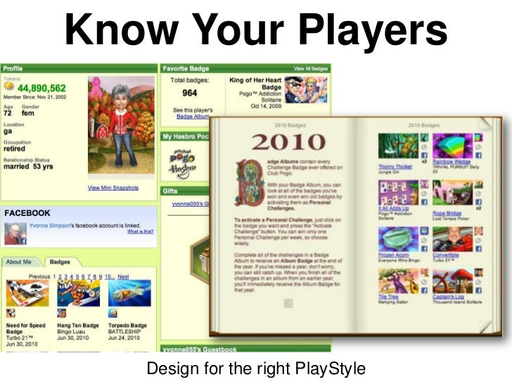 Know Your Players   Design for the right PlayStyle