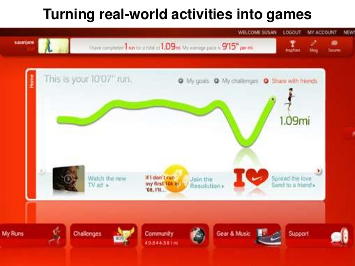 Turning real-world activities into games