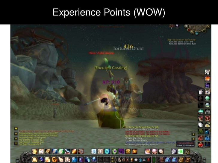 Experience Points (XP)Experience Points (WOW)