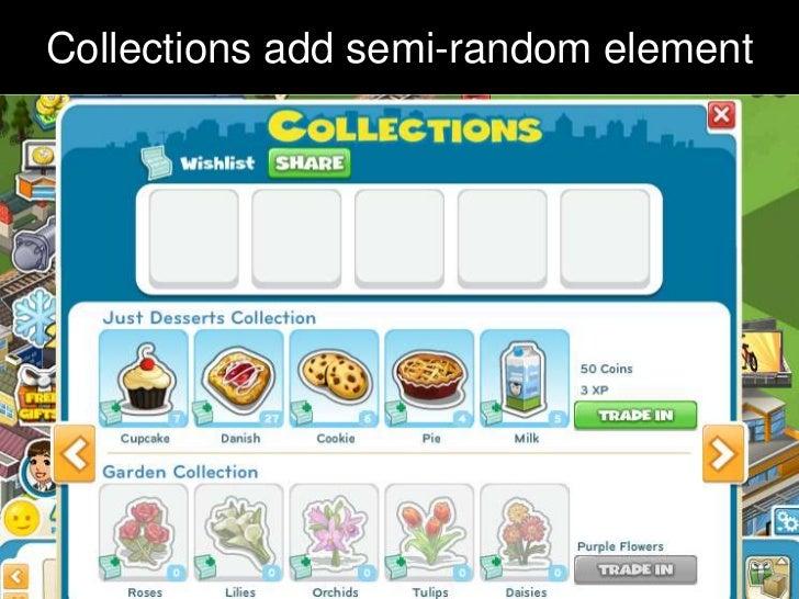 Collections add semi-random element