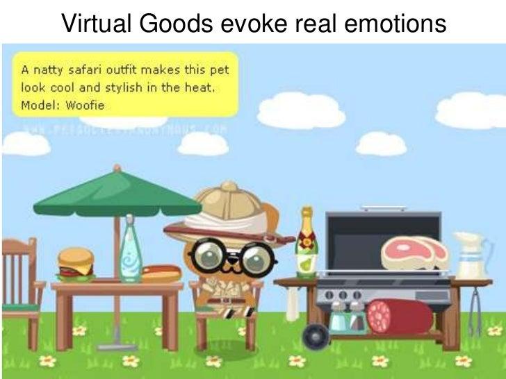 Virtual Goods evoke real emotions