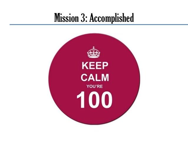 Bonus-Mission • Weitere Beispiele • Erfolgsmessung • Tools • Best Practise