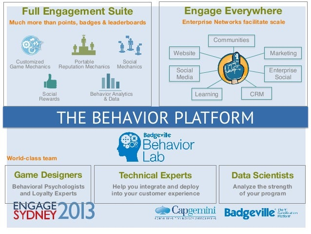 Gamification and the power of boosting engagement: Steve Sims Slide 3