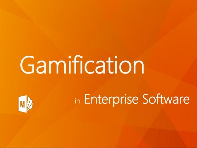 in Enterprise Software Gamification