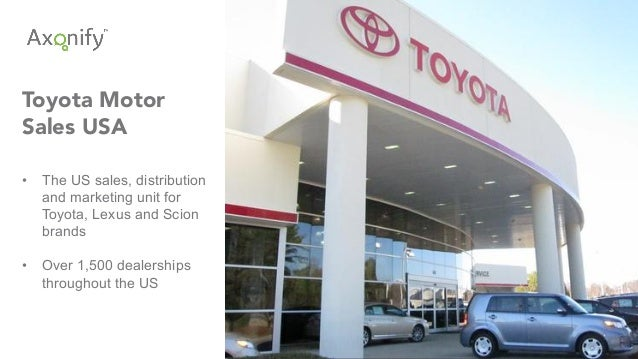 Enterprise gamification by the numbers for Toyota motor company usa