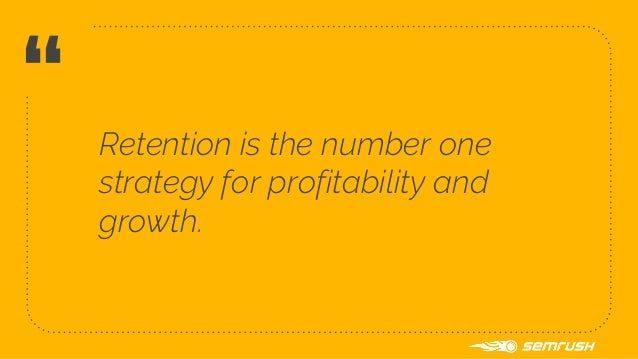 Retention is less expensive than acquisition (5-25x) ❖ It decreases churn 1 % difference in churn - can have 12 % impact o...