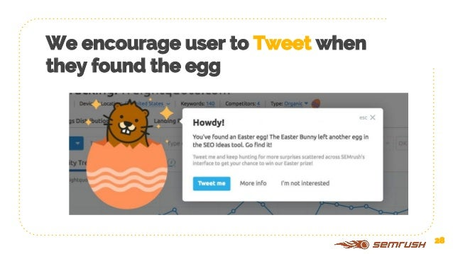 Massive tweeting by users 29